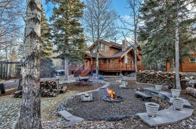 38 Heart Road, Lac des Arcs, AB T1W 2W3 (#A1052107) :: Canmore & Banff