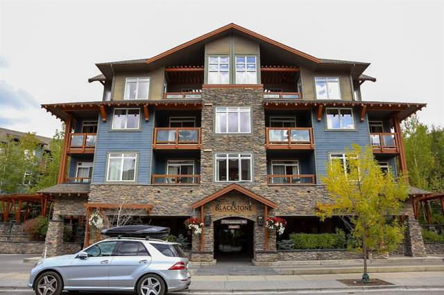 170 Kananaskis Way #418, Canmore, AB T1W 0A8 (#A1052127) :: Canmore & Banff