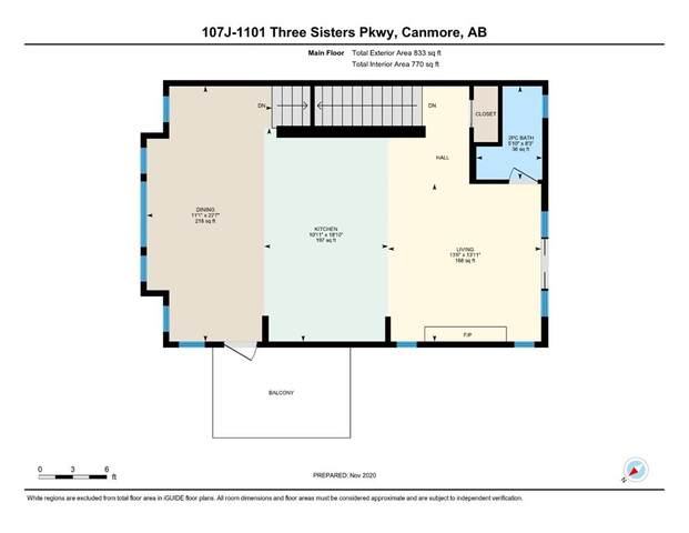 1101 Three Sisters Parkway 107J, Canmore, AB T1W 0L3 (#A1052224) :: Redline Real Estate Group Inc