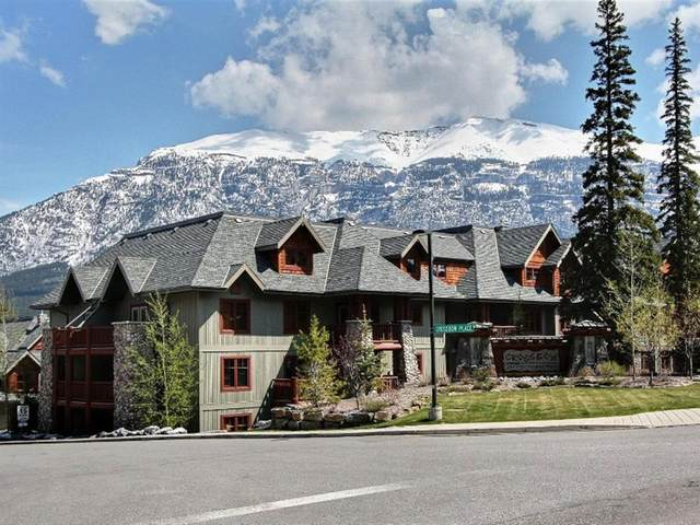 170 Crossbow Place #208, Canmore, AB T1W 3H4 (#A1052466) :: Redline Real Estate Group Inc