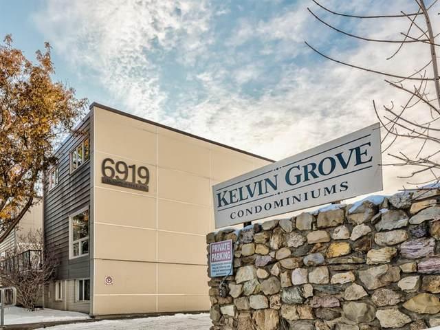 6919 Elbow Drive SW #101, Calgary, AB T2V 0E6 (#A1052867) :: Redline Real Estate Group Inc