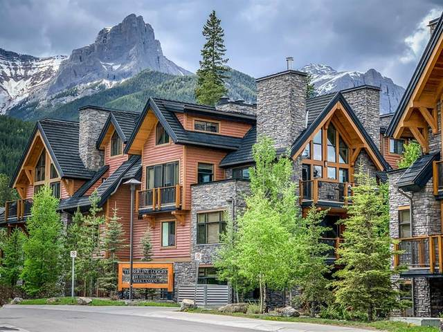 101B Stewart Creek Landing #2106, Canmore, AB T1W 0E3 (#A1053235) :: Redline Real Estate Group Inc