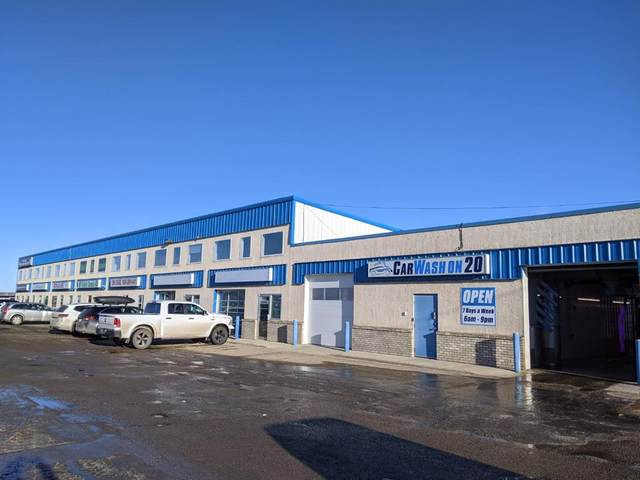 4 Cuendet Industrial Way #105, Sylvan Lake, AB T4S 2J7 (#A1053286) :: Calgary Homefinders