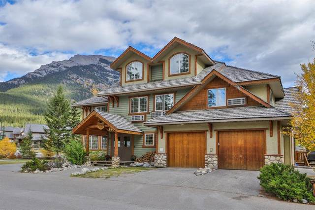 709/713 Benchlands Trail, Canmore, AB T1W 3G9 (#A1054863) :: Canmore & Banff