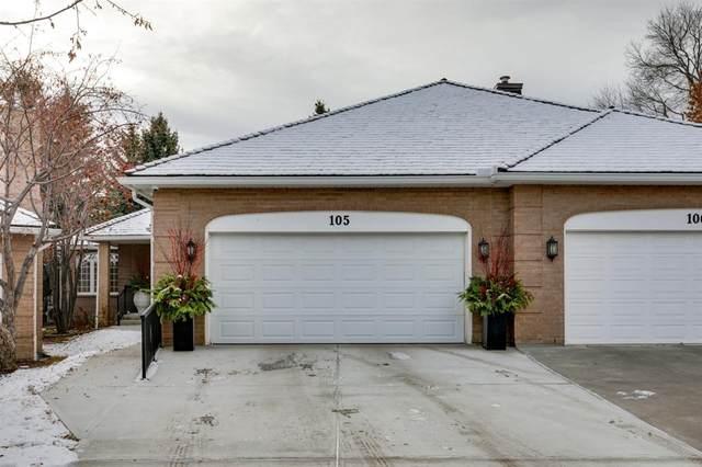 5555 Elbow Drive SW #105, Calgary, AB T2V 1H7 (#A1054896) :: Calgary Homefinders