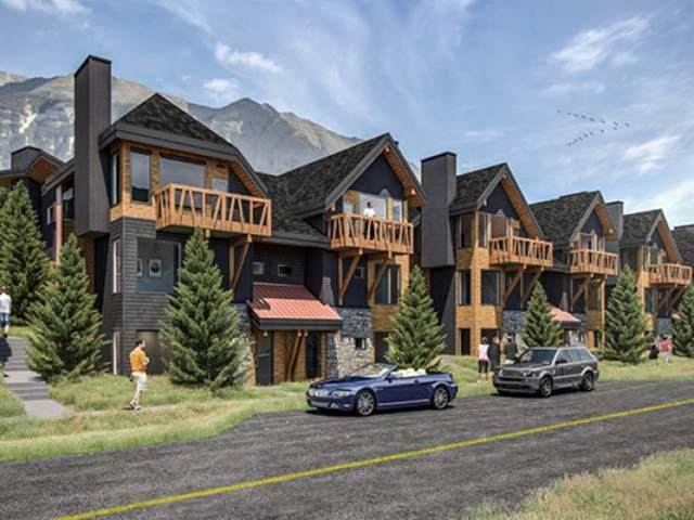 1200 Three Sisters Parkway 102F, Canmore, AB T1W 0L3 (#A1056458) :: Canmore & Banff