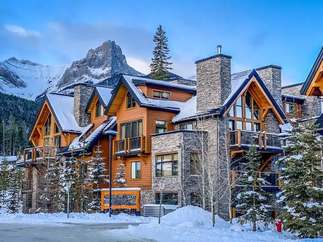 101G Stewart Creek Landing #7208, Canmore, AB T1W 0E3 (#A1056627) :: Canmore & Banff
