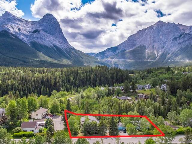 107+109 Three Sisters Drive, Canmore, AB T1W 2M3 (#A1056706) :: Canmore & Banff
