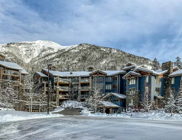 140 Stonecreek Road #103, Canmore, AB T1W 3J3 (#A1057730) :: Canmore & Banff