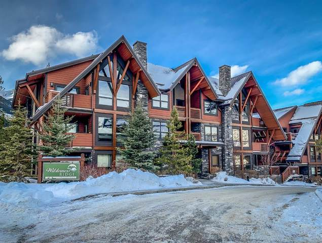 2100A Stewart Creek Drive #202, Canmore, AB T1W 0G3 (#A1057987) :: Canmore & Banff