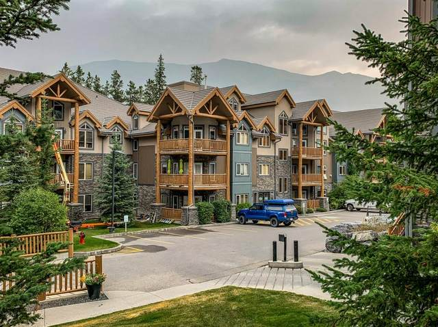 175 Crossbow Place #118, Canmore, AB T1W 3H7 (#A1058249) :: Canmore & Banff