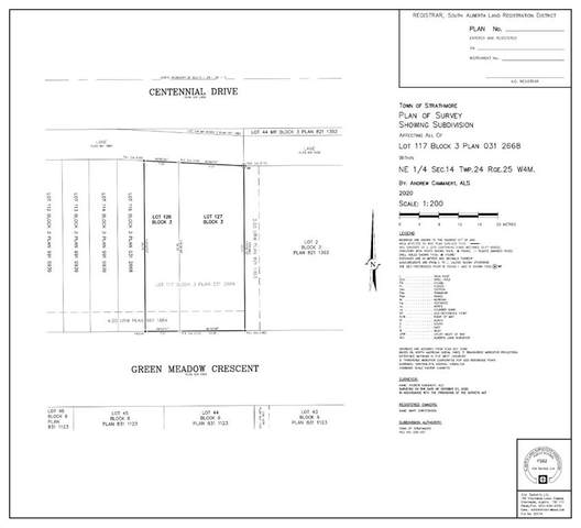 Lot 28 Green Meadow Crescent, Strathmore, AB T1P 1H4 (#A1058768) :: Calgary Homefinders
