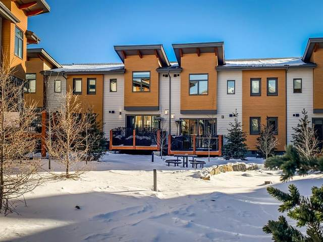 1101 Three Sisters Parkway 102F, Canmore, AB T1W 0L3 (#A1058996) :: Canmore & Banff
