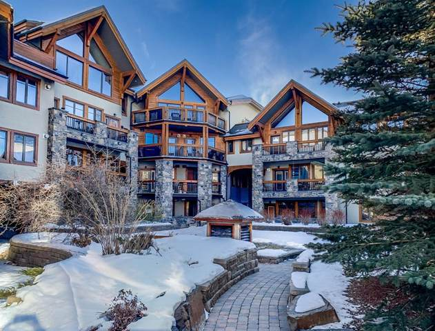 505 Spring Creek Drive #112, Canmore, AB T1W 0C5 (#A1059035) :: Canmore & Banff