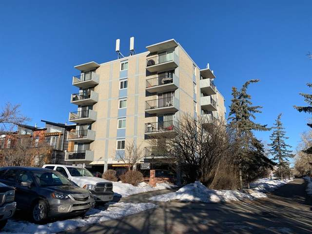 2512 1 Avenue NW #410, Calgary, AB T2N 0C2 (#A1061030) :: Greater Calgary Real Estate