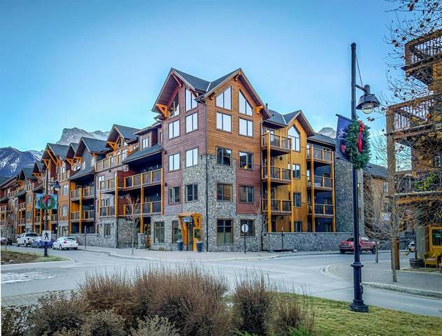 707 Spring Creek Drive #106, Canmore, AB T1W 0K7 (#A1061166) :: Canmore & Banff