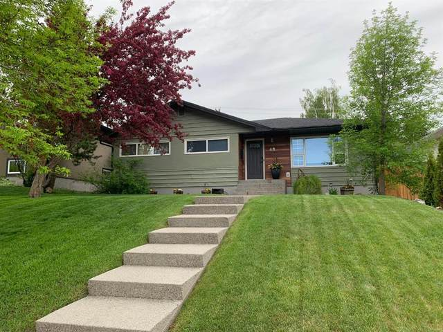 48 Calandar Road NW, Calgary, AB T2L 0P6 (#A1061722) :: Calgary Homefinders