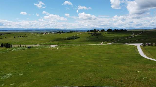 4.99  acres Trails End Road, Rural Rocky View County, AB T4C 2B1 (#A1062830) :: Redline Real Estate Group Inc
