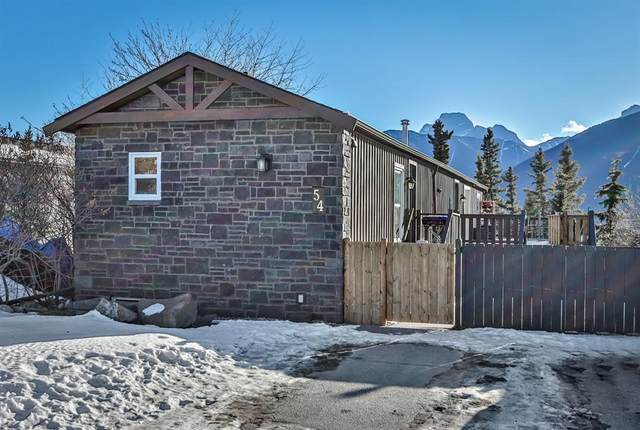 54 Grotto Way, Canmore, AB T1W 1J9 (#A1063044) :: Calgary Homefinders