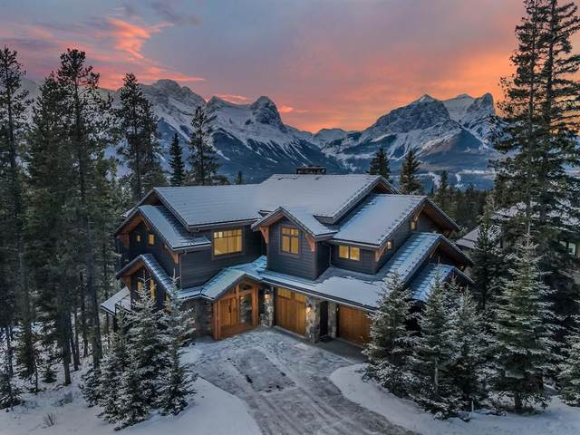 865 Silvertip Heights, Canmore, AB T1W 3K9 (#A1063316) :: Redline Real Estate Group Inc