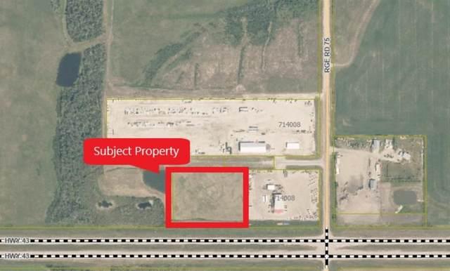 75 Range Road, Rural Grande Prairie No. 1, County of, AB T0H 3S0 (#A1063599) :: Team Shillington | eXp Realty