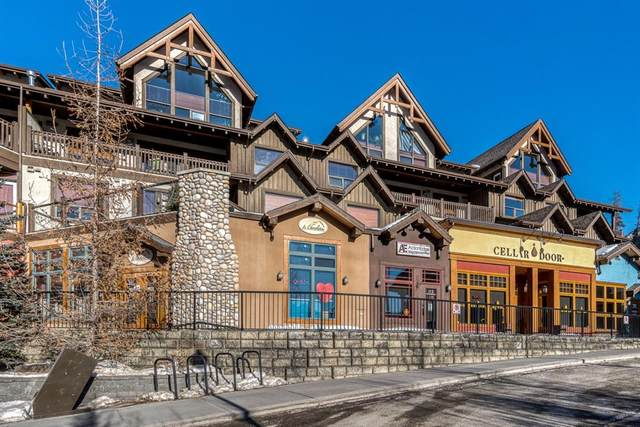 701 Benchlands Trail #113, Canmore, AB T1W 3G9 (#A1063769) :: Canmore & Banff