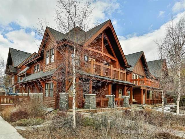 201 Muskrat Street #302, Banff, AB T1L 1A1 (#A1069343) :: Canmore & Banff