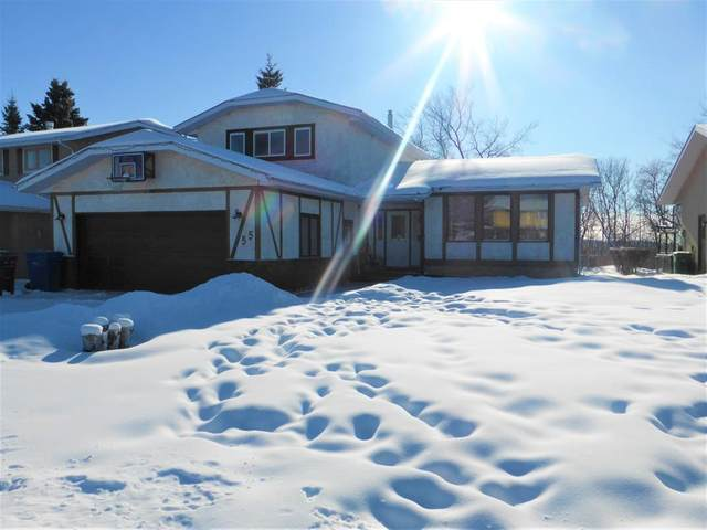 55 Hill Crescent, Red Deer, AB T4N 6G3 (#A1069515) :: Calgary Homefinders