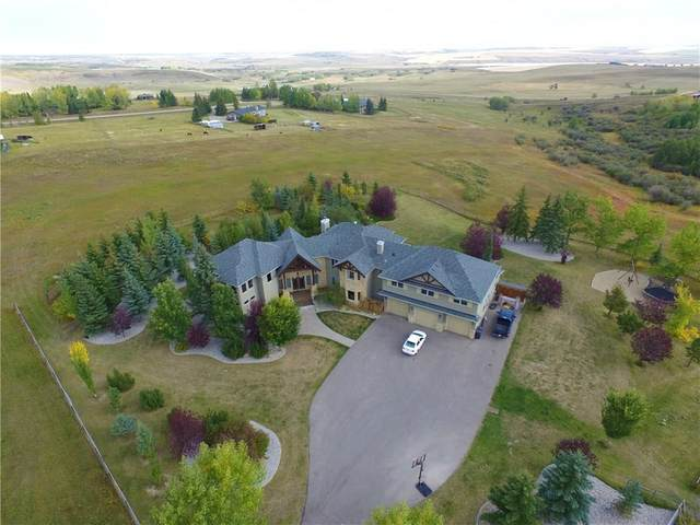 262100 Poplar Hill Drive, Rural Rocky View County, AB T3R 1C7 (#A1070956) :: Western Elite Real Estate Group