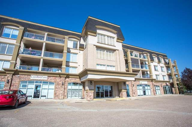 4425 Heritage Way #102, Lacombe, AB T4L 2P4 (#A1072131) :: Western Elite Real Estate Group