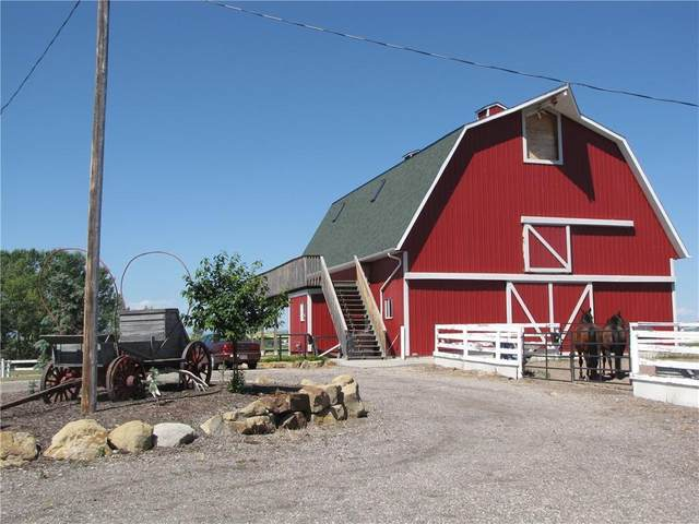 113036 466 Avenue E, Rural Foothills County, AB T1V 1A2 (#A1072254) :: Calgary Homefinders