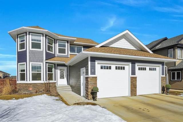 2 Elma Street, Lacombe, AB T4L 0G2 (#A1072508) :: Calgary Homefinders