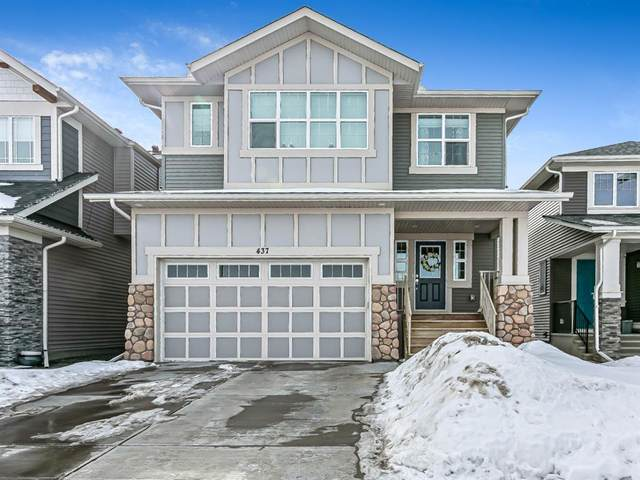437 Kings Heights Drive SE, Airdrie, AB T4A 0R4 (#A1072932) :: Redline Real Estate Group Inc