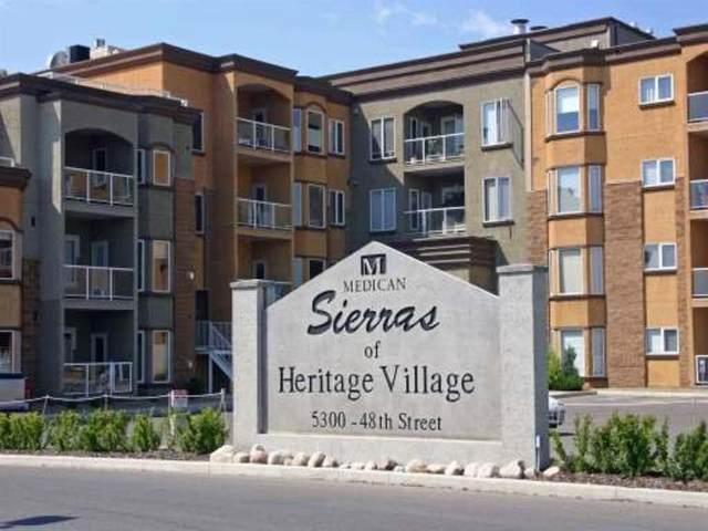 5300 48 Street #403, Red Deer, AB T4N 7C3 (#A1073813) :: Redline Real Estate Group Inc