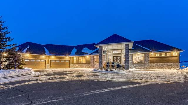 250111 Dynasty Drive W, Rural Foothills County, AB T1S 4Y4 (#A1073930) :: Calgary Homefinders