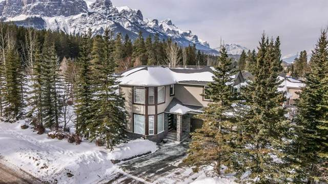 183 Mcneill, Canmore, AB T1W 2R9 (#A1074516) :: Calgary Homefinders