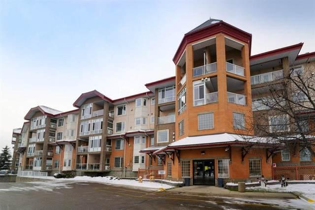 4512 52 Avenue #433, Red Deer, AB T4N 7B9 (#A1074781) :: Redline Real Estate Group Inc