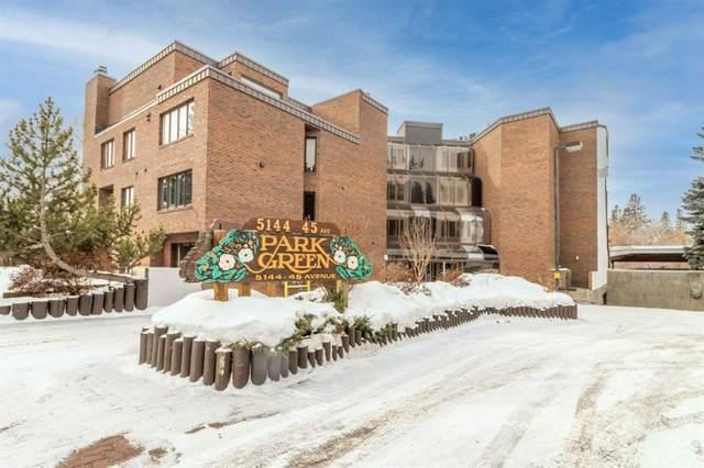 5144 45 Avenue #401, Red Deer, AB T4N 3L3 (#A1074978) :: Calgary Homefinders