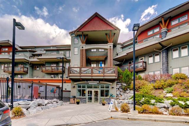 107 Montane Road #215, Canmore, AB T1W 3J2 (#A1075228) :: Redline Real Estate Group Inc