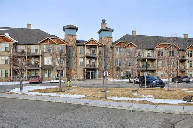 207 Sunset Drive #312, Cochrane, AB T4C 0H7 (#A1075798) :: Redline Real Estate Group Inc