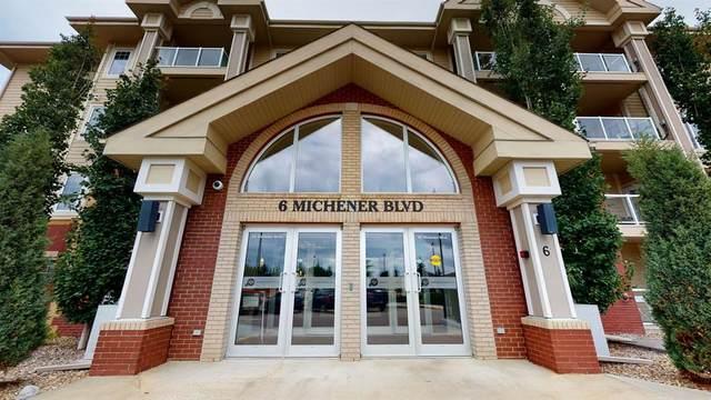 6 Michener Boulevard #316, Red Deer, AB T4P 0K5 (#A1075945) :: Calgary Homefinders