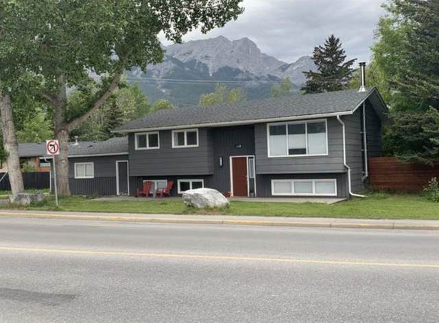 510 8th Avenue, Canmore, AB T1W 2E1 (#A1076611) :: Redline Real Estate Group Inc