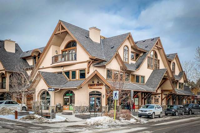 1001 6TH Avenue #213, Canmore, AB T1W 3L8 (#A1076659) :: Redline Real Estate Group Inc