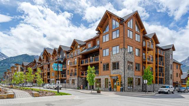 707 Spring Creek Drive #403, Canmore, AB T1W 0K7 (#A1076666) :: Redline Real Estate Group Inc
