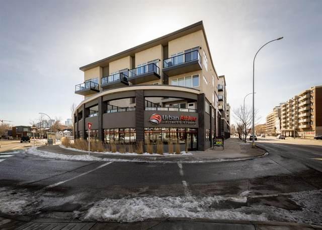 476 14 Street NW #402, Calgary, AB T2N 1Z7 (#A1077014) :: Western Elite Real Estate Group