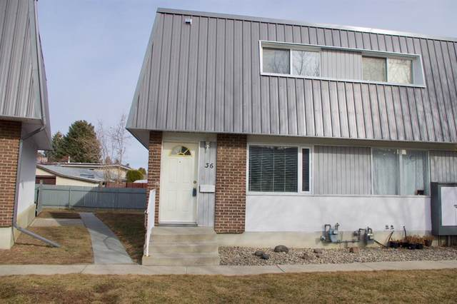 1601 23rd Street N #36, Lethbridge, AB T1H 4M0 (#A1077293) :: Greater Calgary Real Estate