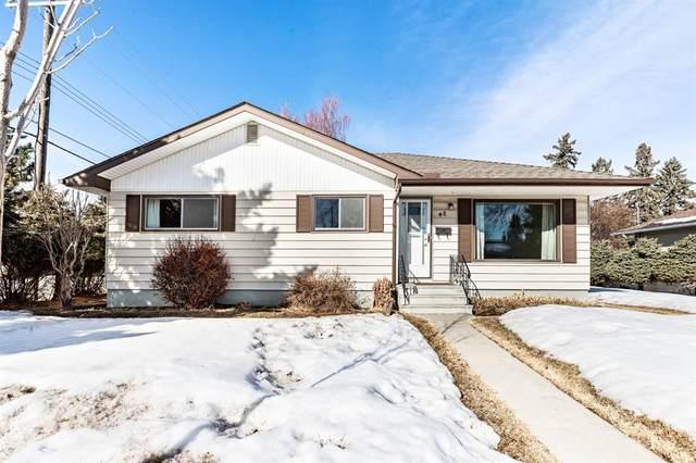 48 Grafton Drive SW, Calgary, AB T3E 4W3 (#A1077317) :: Western Elite Real Estate Group
