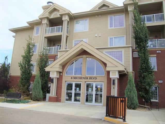 6 Michener Boulevard #216, Red Deer, AB T4P 0K5 (#A1077427) :: Western Elite Real Estate Group
