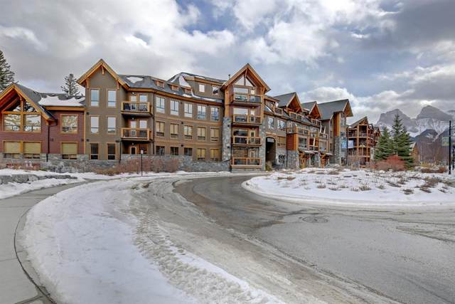 600 Spring Creek Drive #302, Canmore, AB T1W 0C8 (#A1077682) :: Canmore & Banff