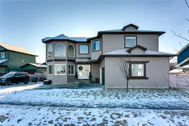 123 Canoe Drive SW, Airdrie, AB T4B 2N7 (#A1078075) :: Redline Real Estate Group Inc